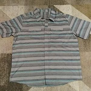 SwissTech Mens Buttonup Shirt XL